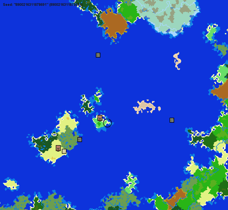 Minecraft island seeds (also small continents!) | Simple