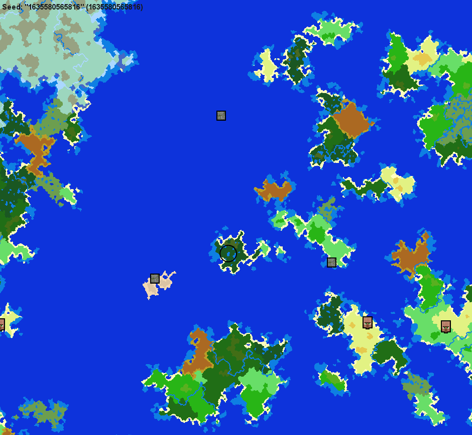 Minecraft Island Seeds Also Small Continents Simple