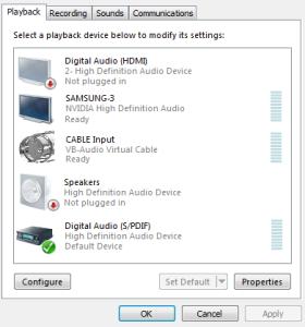 Realtime digital audio processing using VST Plugins in