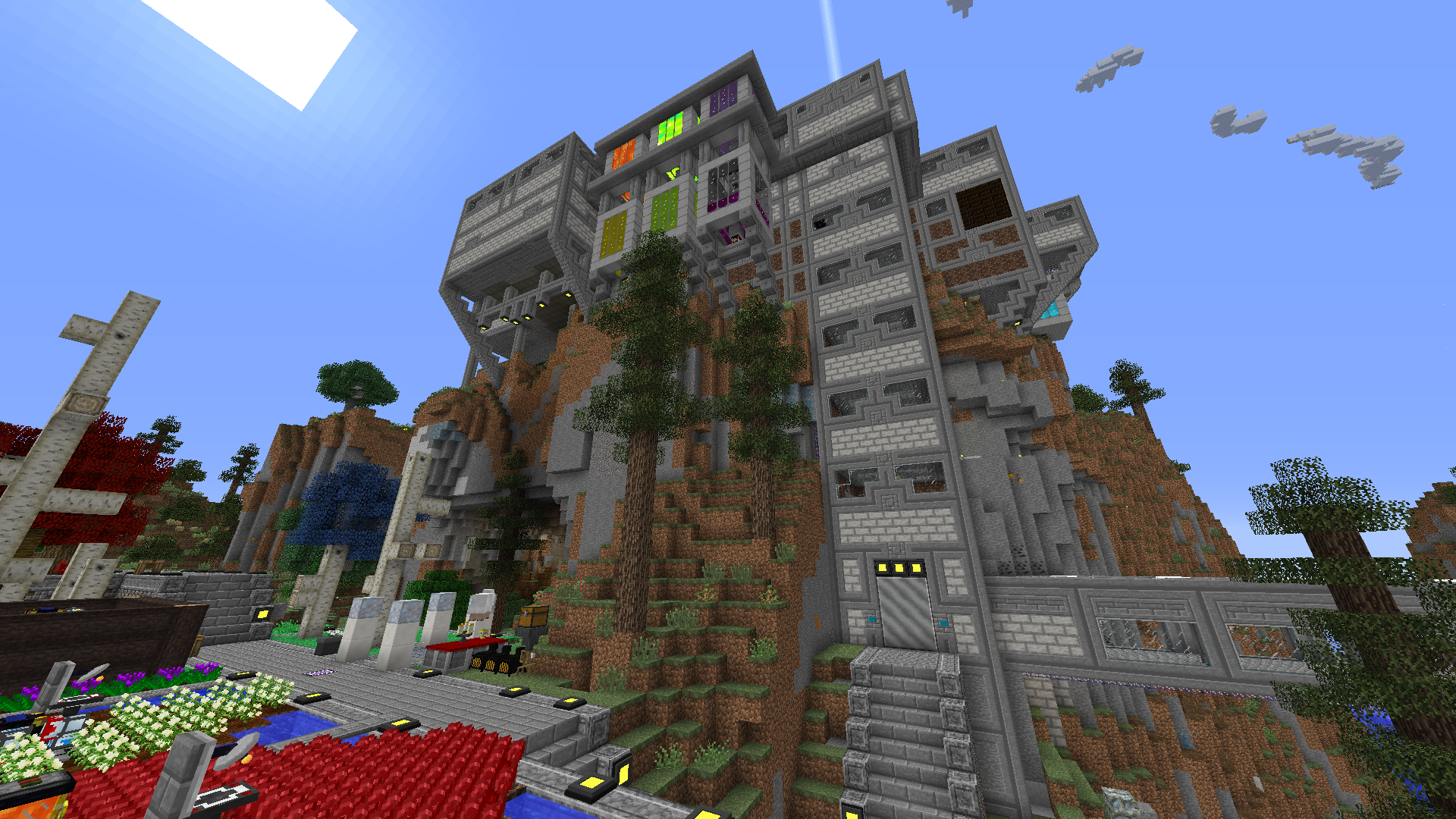 Minecraft Wood Storage Building