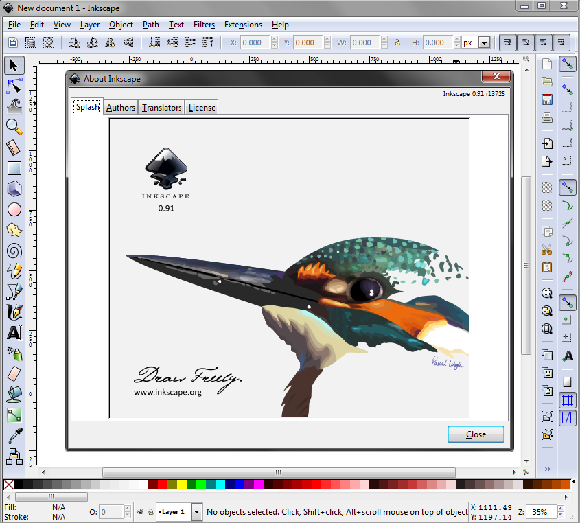 Inkscape a great open source inkscape open source Open source svg editor