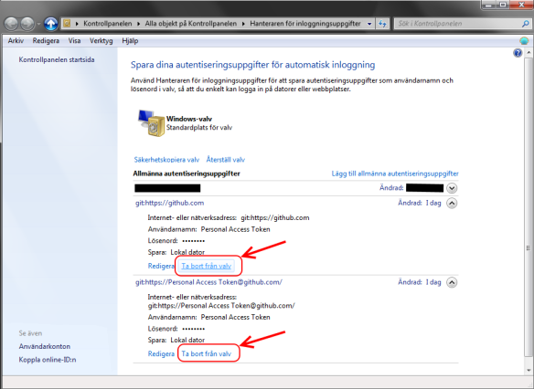 GitHub changing user account on windows | Simple solutions